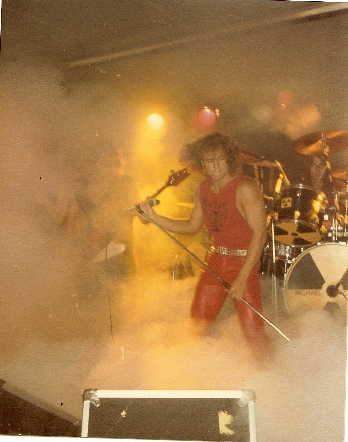 Red Baron live at Studion, Stockholm c:a 1984